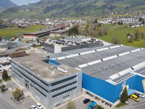 Logistikgebäude Arthur Weber AG