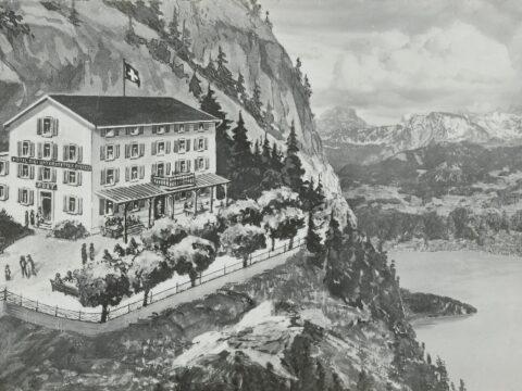 Wie der Strom auf den Berg kam (1899)