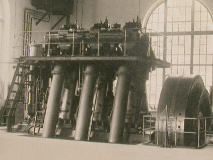 Dieselanlage – das Kraftwerk bei Engpässen (1910–1946)