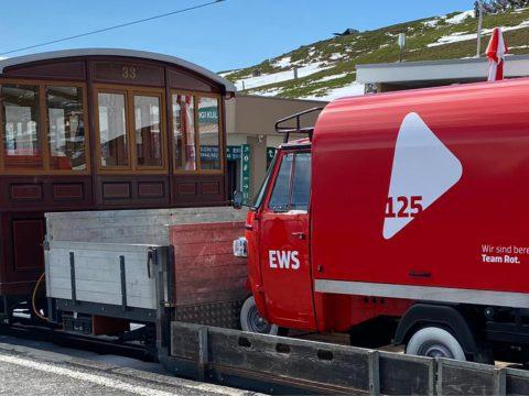 EWS-Jubiflitzer geht auf Reisen
